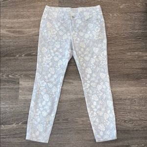 Tommy Bahama Skinny Ankle Print Jeans